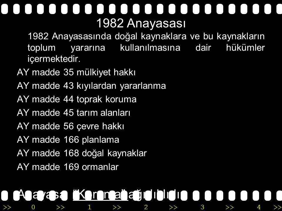 >>0 >>1 >> 2 >> 3 >> 4 >> Türk Medeni Kanunu MK 715 kamu malları MK 751 ormanlar MK 756 sular MK 659-668 Tarım toprakları Medeni Kanun Koruma ağırlıklıdır.