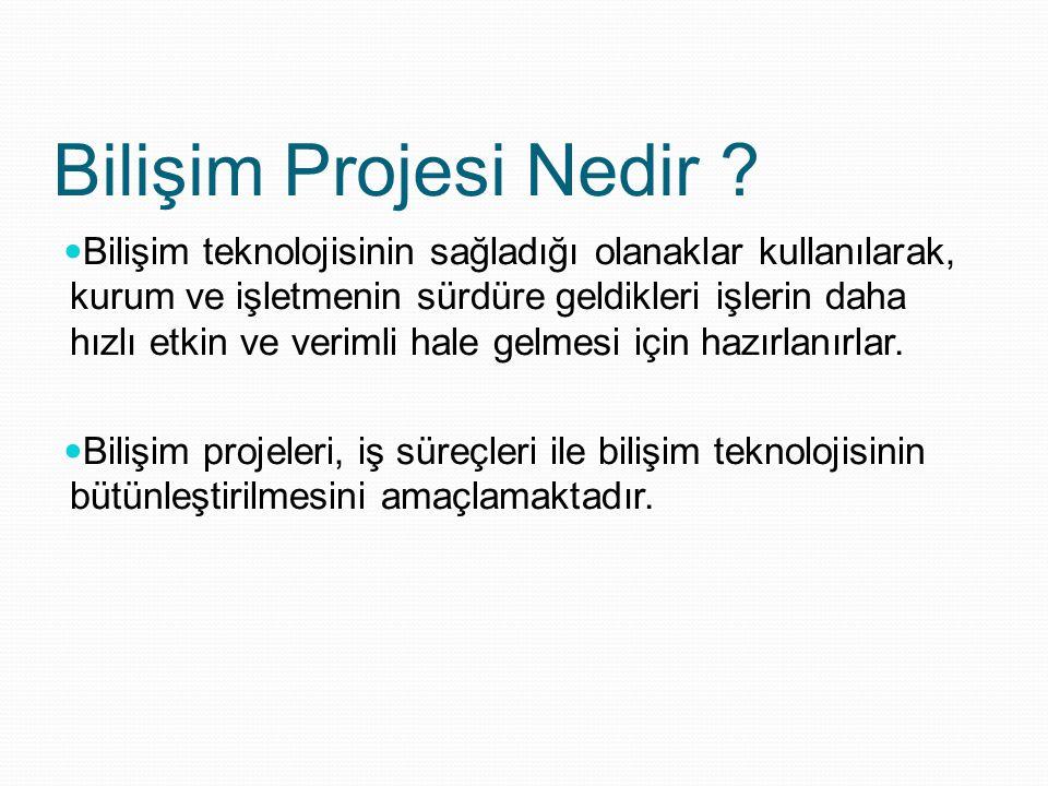 Bilişim Projesi Nedir .