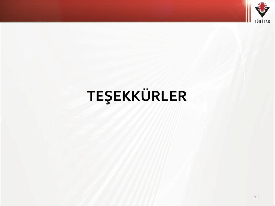 TEŞEKKÜRLER 10