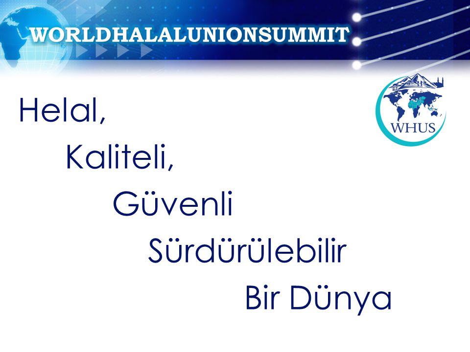 DÜNYA HELAL BİRLİĞİ Dünya Helal Birliği, Şubat 2010 yılında DÜNYA HELAL GIDA BİRLİĞİ olarak Bursa'da kurulmuştur.