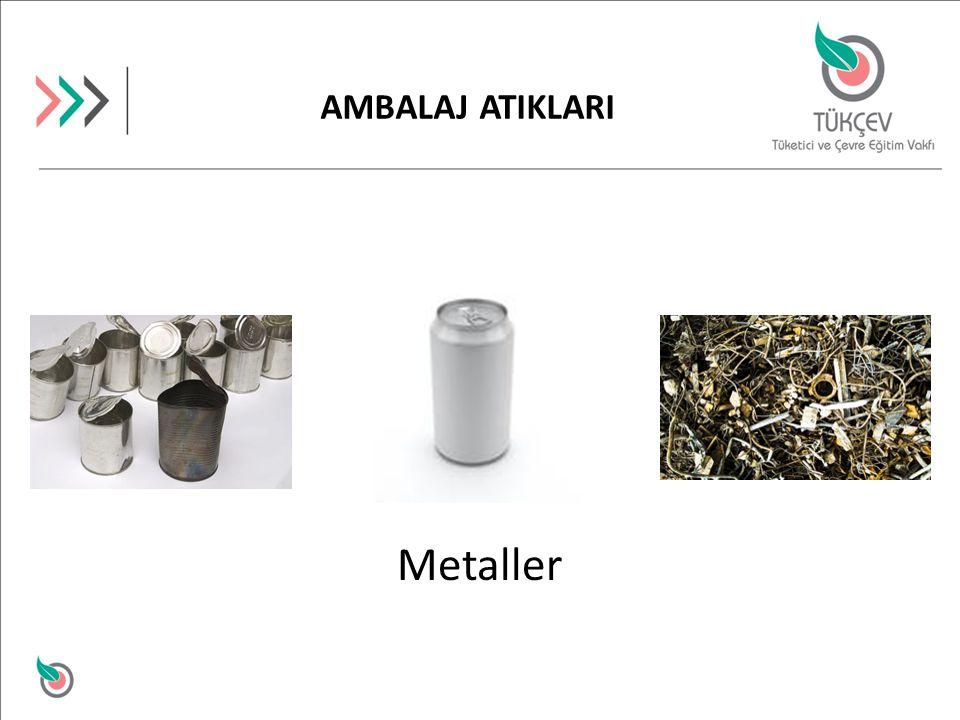 Metaller AMBALAJ ATIKLARI