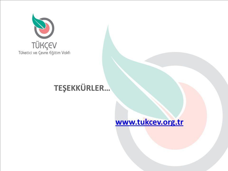 www.tukcev.org.tr TEŞEKKÜRLER…