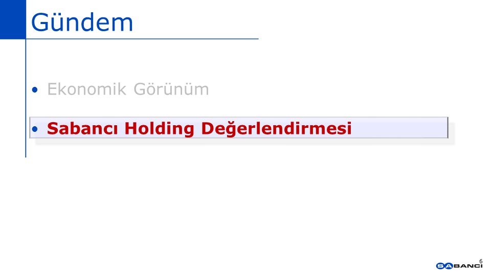 Sabancı Holding 2014 sonuçları Kombine net satışlarımız 44,2 milyar TL (2013'ye göre %23 artış) Banka dışı kombine net satış 27,3 milyar TL (2013'e göre +%27) Banka dışı kombine EBITDA 3,2 milyar TL ( 2013'e göre + %32) Konsolide net kar 2 milyar 79 milyon TL Toplam 3 milyar TL'lik yatırım, % 57 Enerji'ye Ana ortaklığa ait konsolide sermaye 19,2 milyar TL 11 halka açık şirket ve Sabancı Holding - IMKB piyasa değerinin %11'i Net Aktif Değerimiz 30,8 milyar TL 7 Kaynak : Sabancı Holding, IMKB