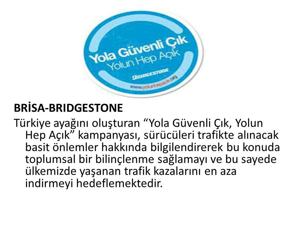 """BRİSA-BRIDGESTONE Türkiye ayağını oluşturan """"Yola Güvenli Çık, Yolun Hep Açık"""" kampanyası, sürücüleri trafikte alınacak basit önlemler hakkında bilgil"""