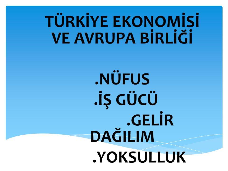  Türkiye'de Nüfus  Ülkemizdeki nüfusun sayısı ve nüfusla ilgili veriler yapılan nüfus sayımları ile elde edilir.