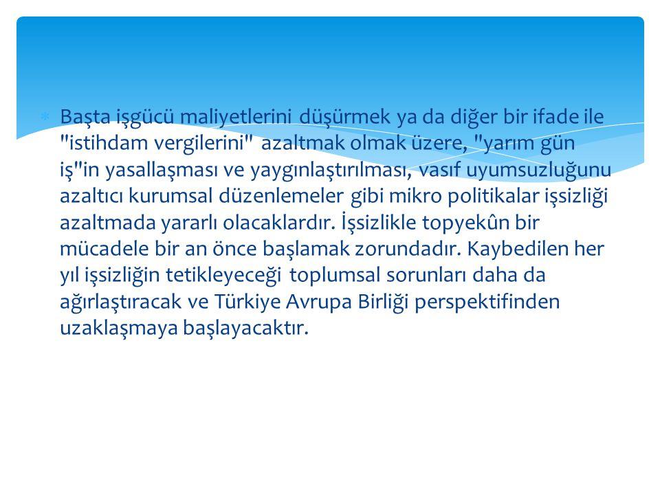 iş Gücü Türkiye, 28,1 milyondan fazlası aktif olarak çalışan 76,6 milyonluk bir nüfusa sahiptir ve AB üyesi ülkelerle karşılaştırıldığında en büyük iş gücüne sahip 4.
