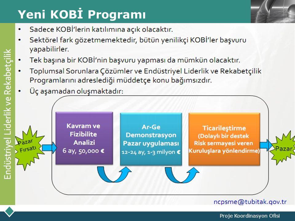 LOGO Yeni KOBİ Programı Proje Koordinasyon Ofisi