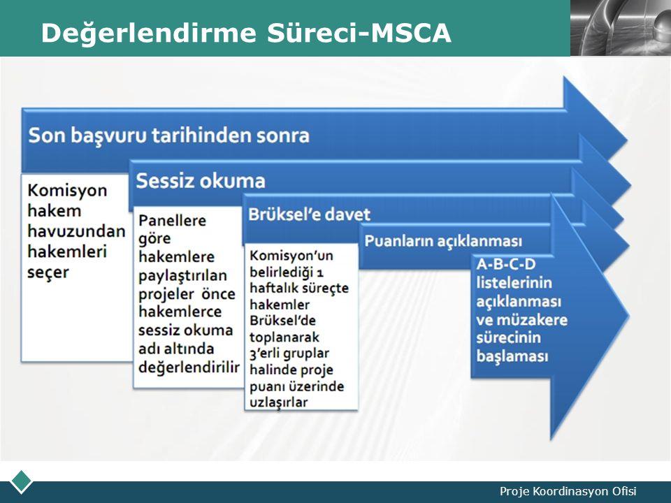 LOGO Değerlendirme Süreci-MSCA Proje Koordinasyon Ofisi