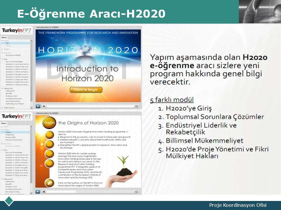 LOGO E-Öğrenme Aracı-H2020 Proje Koordinasyon Ofisi