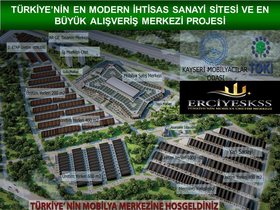 KAYSERİ MOBİLYA SEKTÖRÜNÜN DURUMU Kayseri, Türkiye'nin en büyük Mobilya üretim merkezidir.