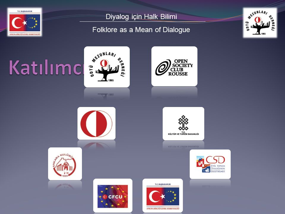 Diyalog için Halk Bilimi Folklore as a Mean of Dialogue