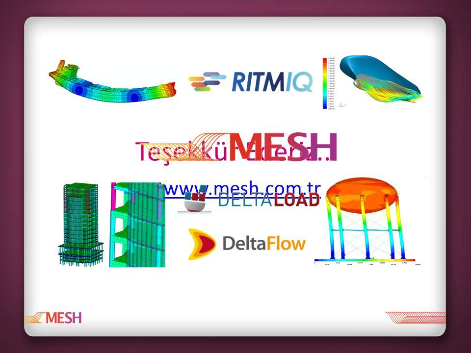 www.mesh.com.tr Teşekkür Ederiz...