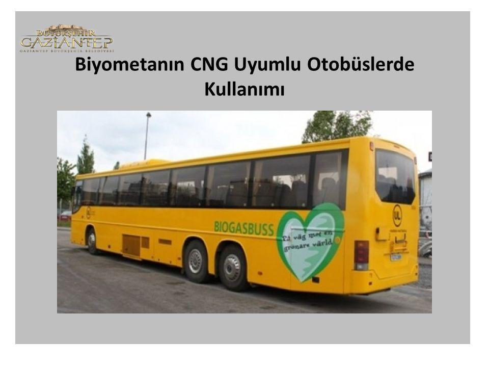 Biyometanın CNG Uyumlu Otobüslerde Kullanımı