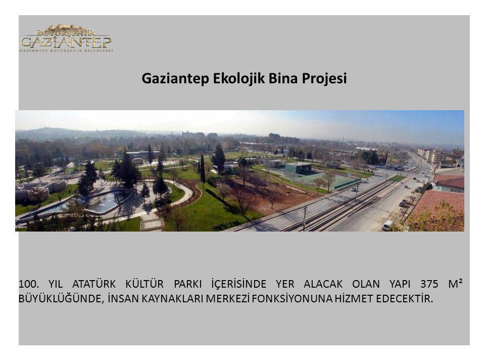 Gaziantep Ekolojik Bina Projesi 100.