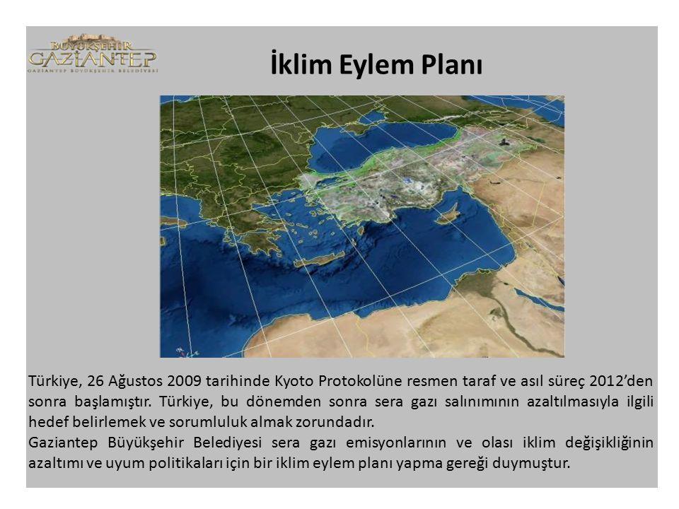 Türkiye, 26 Ağustos 2009 tarihinde Kyoto Protokolüne resmen taraf ve asıl süreç 2012'den sonra başlamıştır.