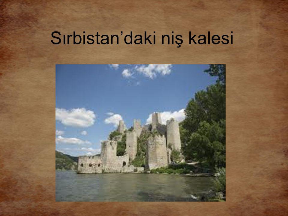 Sırbistan'daki niş kalesi