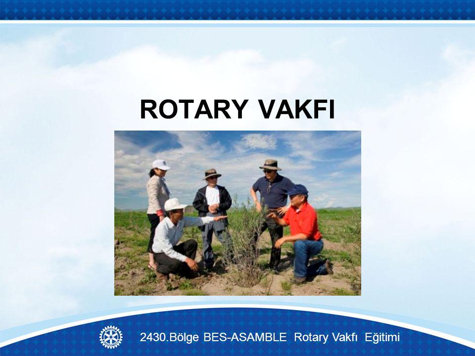 ROTARY VAKFI 2430.Bölge BES-ASAMBLE Rotary Vakfı Eğitimi
