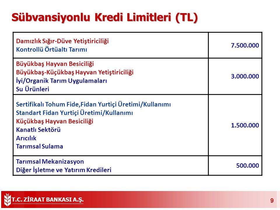 T.C. ZİRAAT BANKASI A.Ş. 20