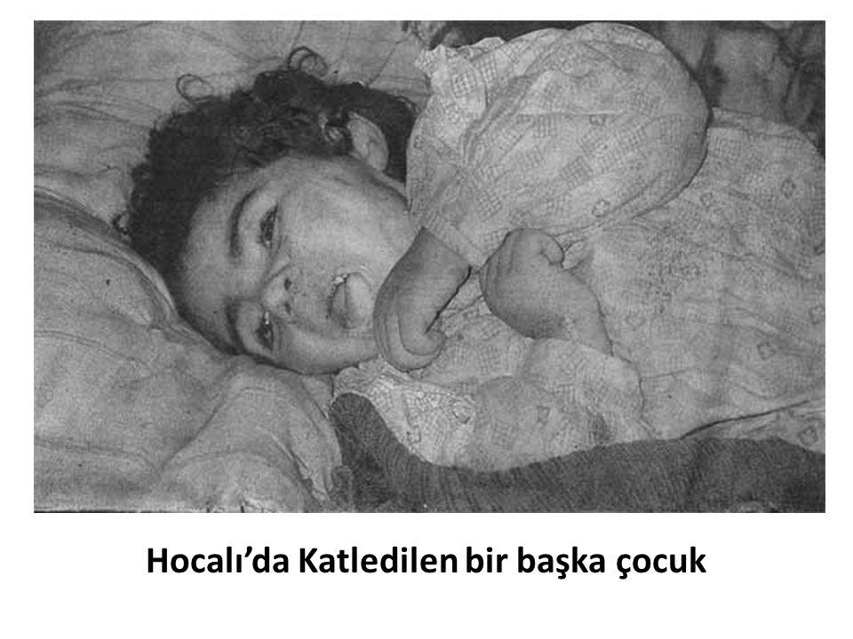 Hocalı'da Katledilen bir başka çocuk