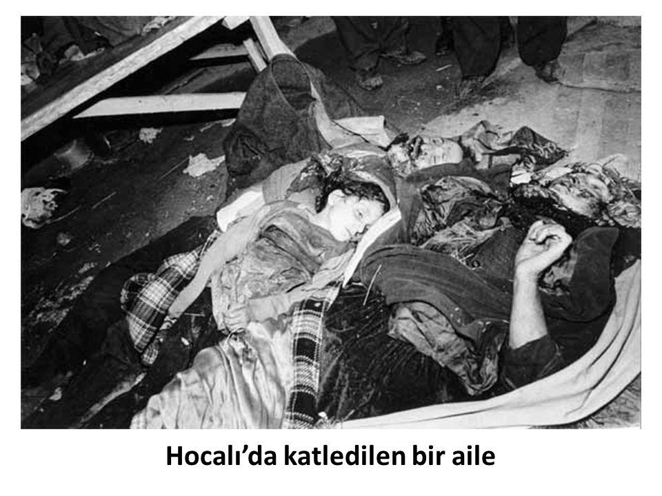 Hocalı'da katledilen bir aile