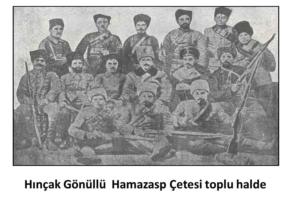 Hınçak Gönüllü Hamazasp Çetesi toplu halde