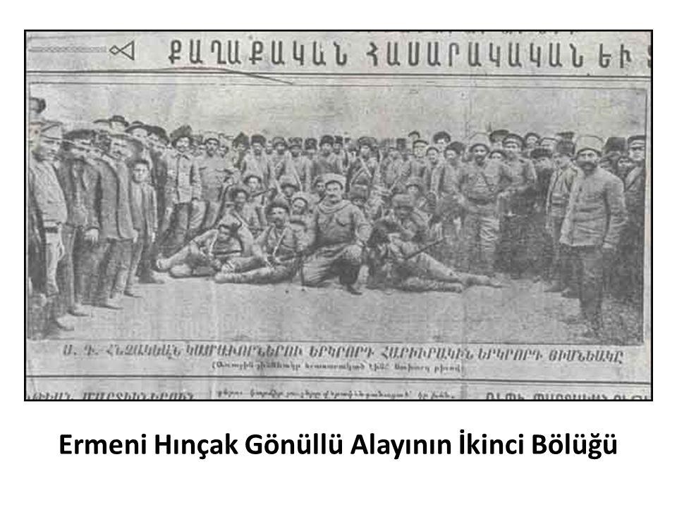 Ermeni Hınçak Gönüllü Alayının İkinci Bölüğü
