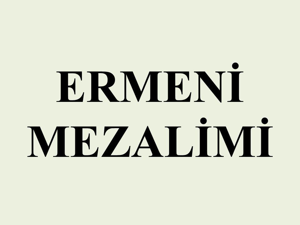 ERMENİ MEZALİMİ