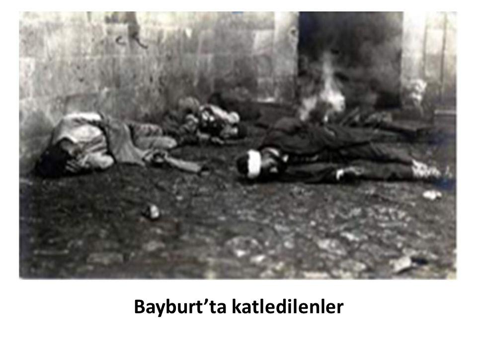Bayburt'ta katledilenler
