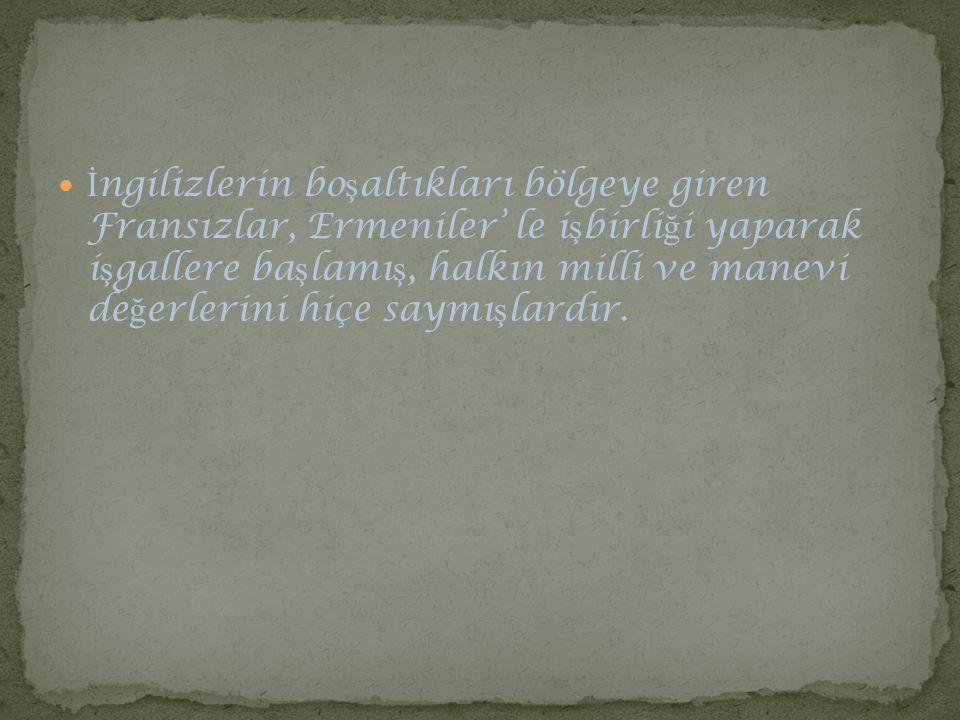 Dü ş man bundan habersizdi.Türkler için uzun, a ğ ır, katlanması çok zor olan bir gün bitiyordu.