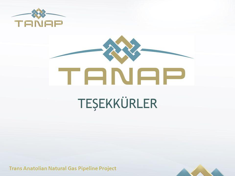 Trans Anatolian Natural Gas Pipeline Project TEŞEKKÜRLER