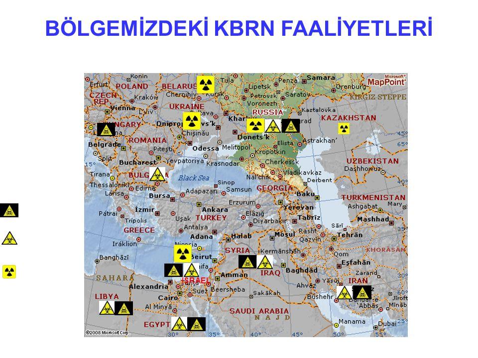 66 BÖLGEMİZDEKİ KBRN FAALİYETLERİ www.fas.org KİMYASAL SİLAHLAR BİYOLOJİK SİLAHLAR NÜKLEER SİLAHLAR ISRAEL