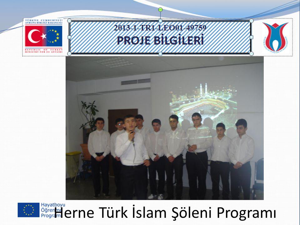 Herne Türk İslam Şöleni Programı