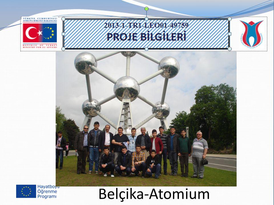 Belçika-Atomium