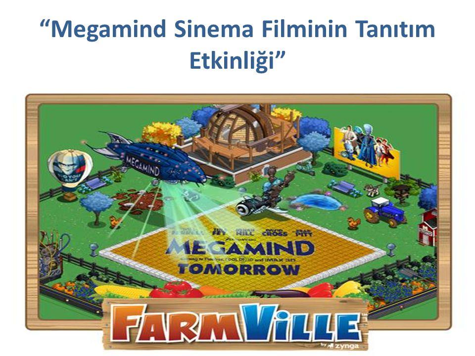 """""""Megamind Sinema Filminin Tanıtım Etkinliği"""""""