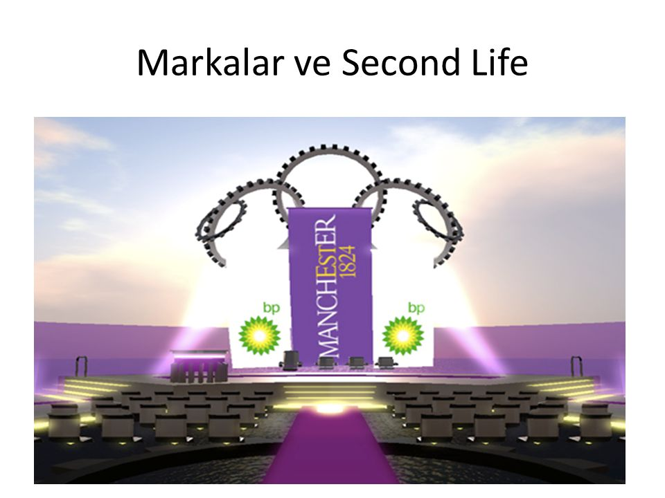 Markalar ve Second Life