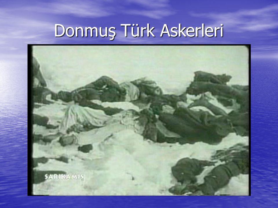 Donmuş Türk Askerleri Donmuş Türk Askerleri