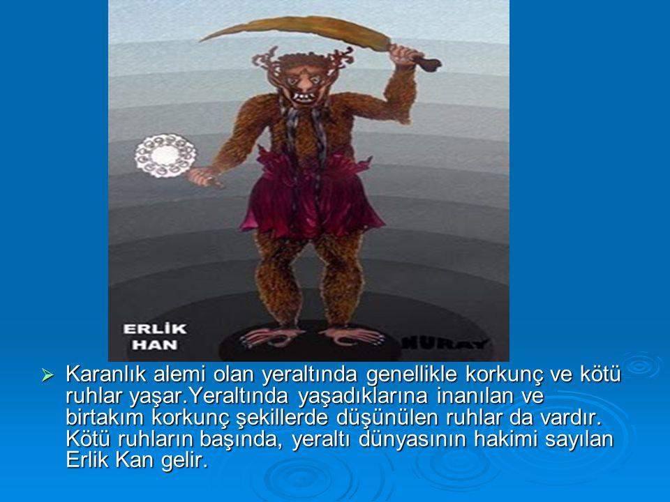  Altaylılarda Şamanlar Ak Kam ve Kara Kam olmak üzere ikiye ayrılır.