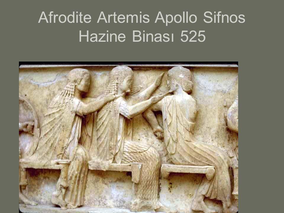 Afrodite Artemis Apollo Sifnos Hazine Binası 525