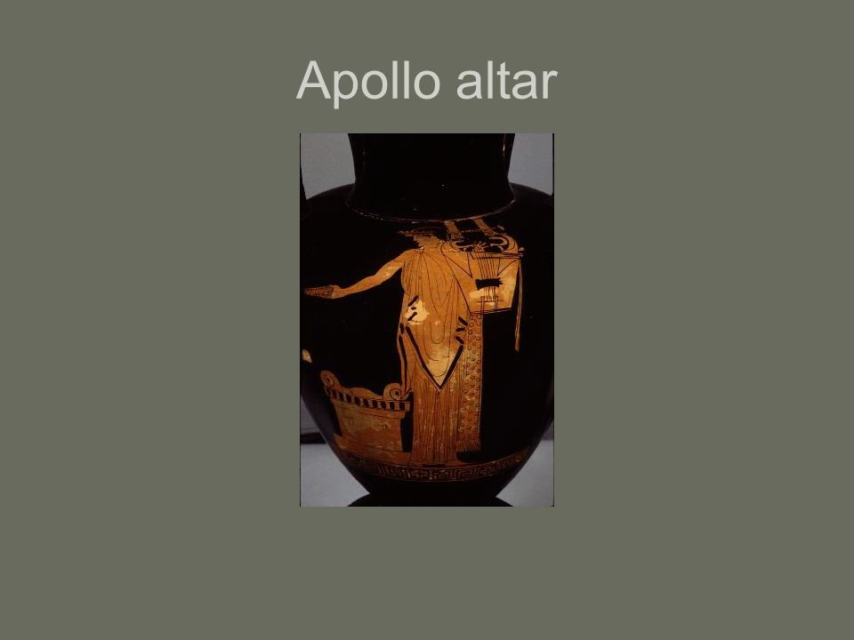 Apollo altar