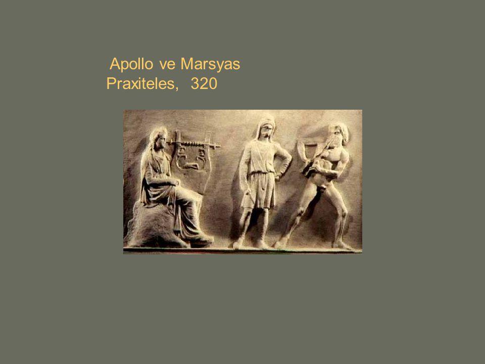 Apollo ve Marsyas Praxiteles, 320