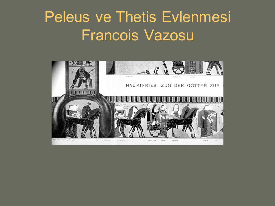 Peleus ve Thetis Evlenmesi Francois Vazosu