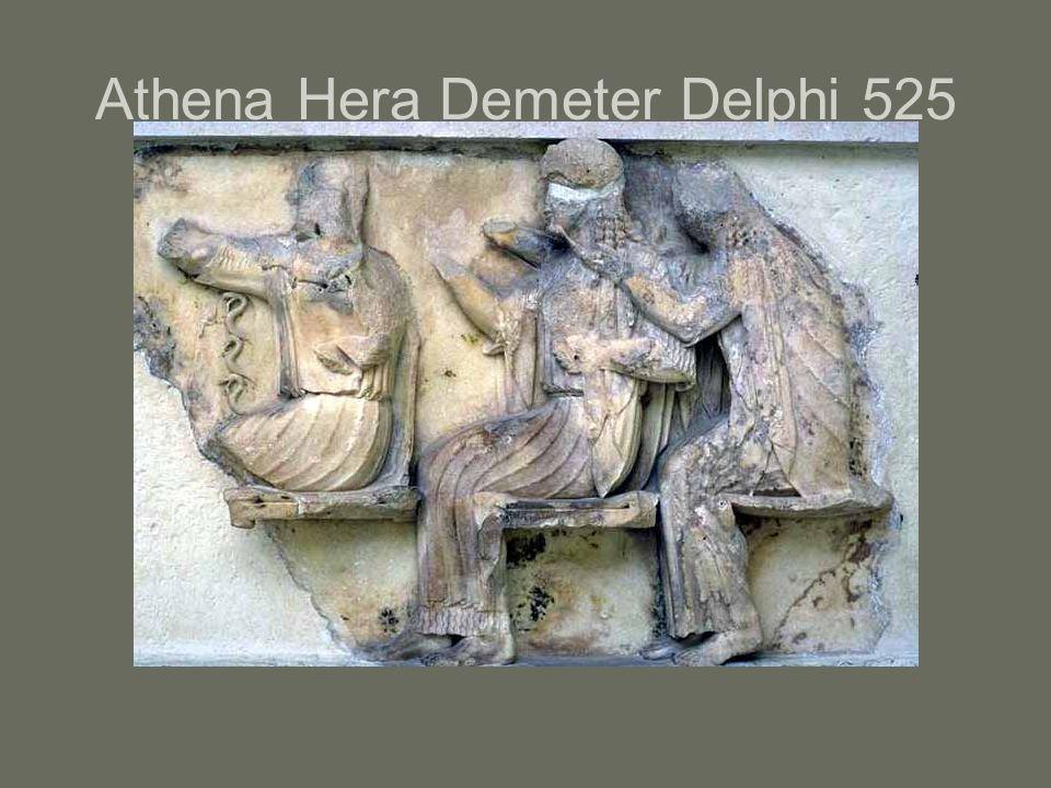 Athena Hera Demeter Delphi 525