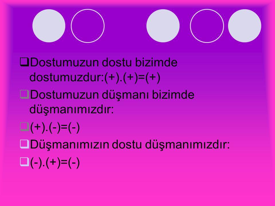 19)(12):(6).(-2) işleminin sonucu kaçtır? A.2 B.4 C.-4 D.-2 Çözüm: 12:6.-2=-4 Cevap:C
