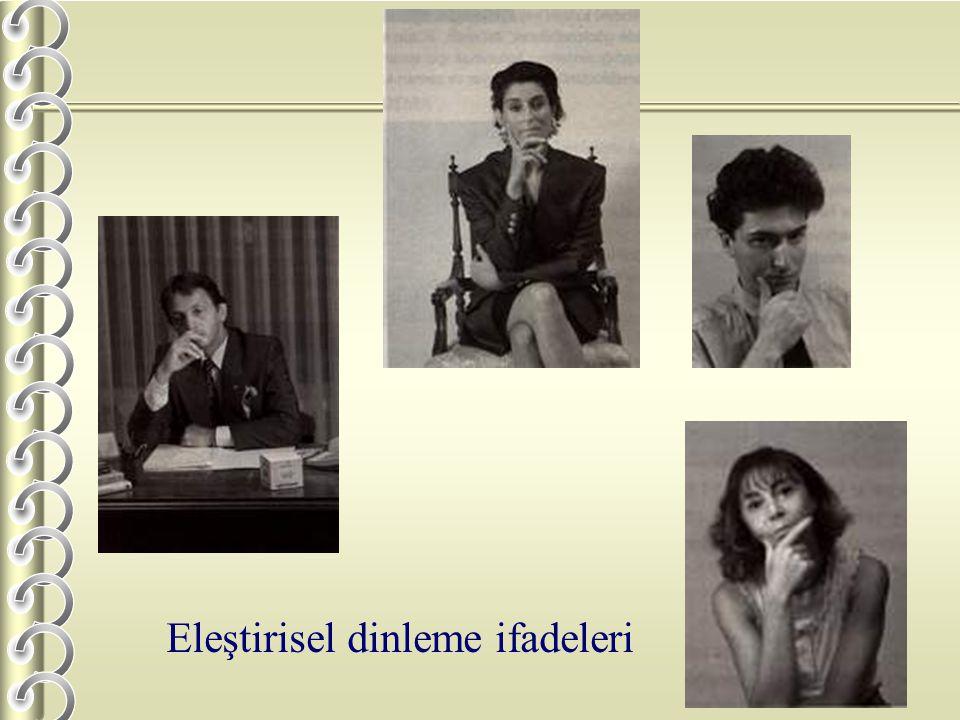 Eleştirisel dinleme ifadeleri