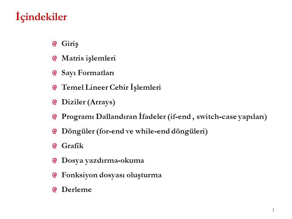 2 Kaynakça Doğan, U., (2009), Temel Bilgisayar Bilimleri Ders Notları, YTÜ, Lisans Ders Notları, İstanbul.