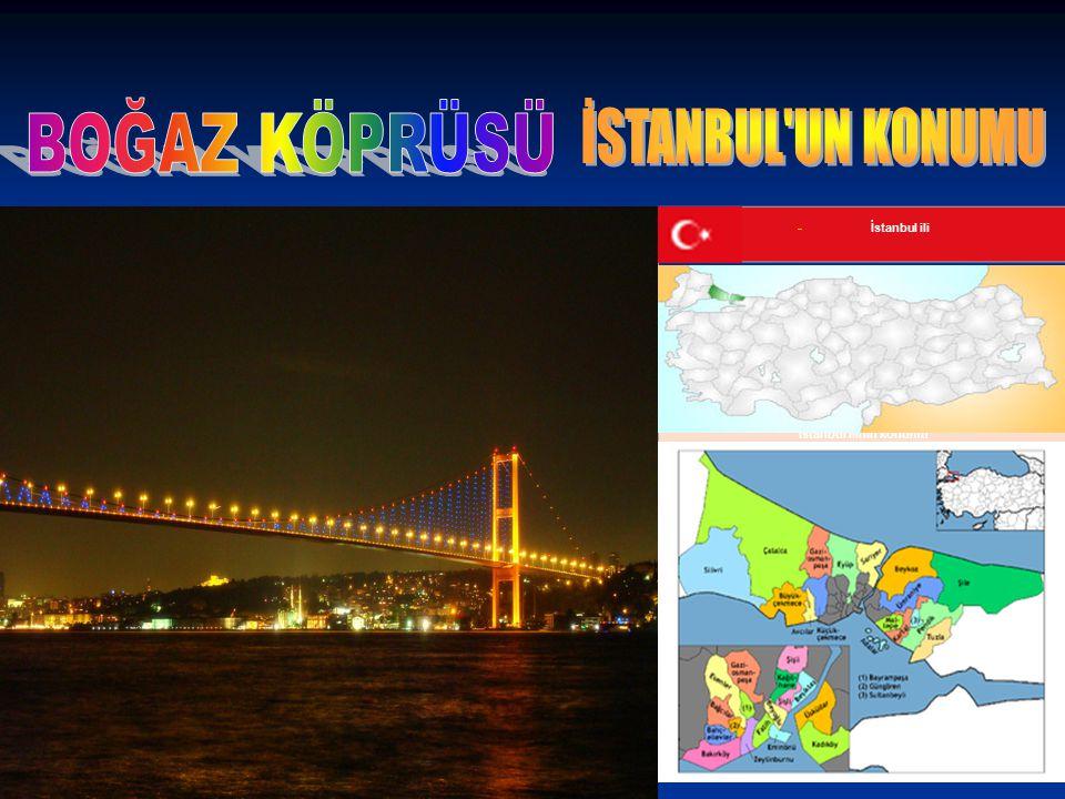 İstanbul ili İstanbul ilinin konumu