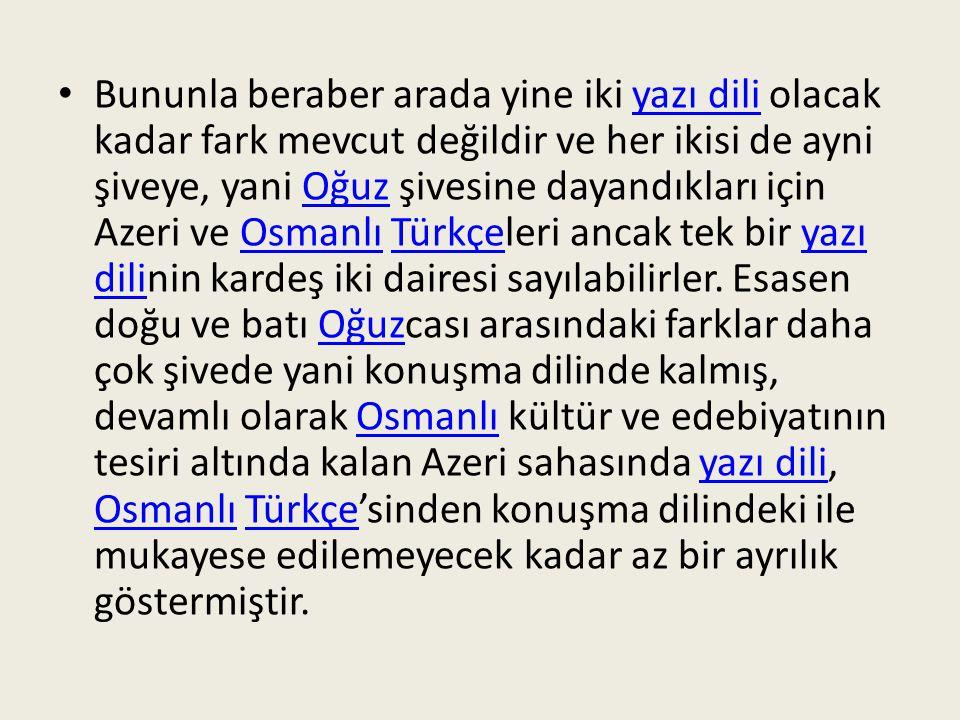 Türkiye Türkçe'si terkipler dışındaki yabancı unsurlar bakımından da Osmanlıca'dan çok farklıdır.