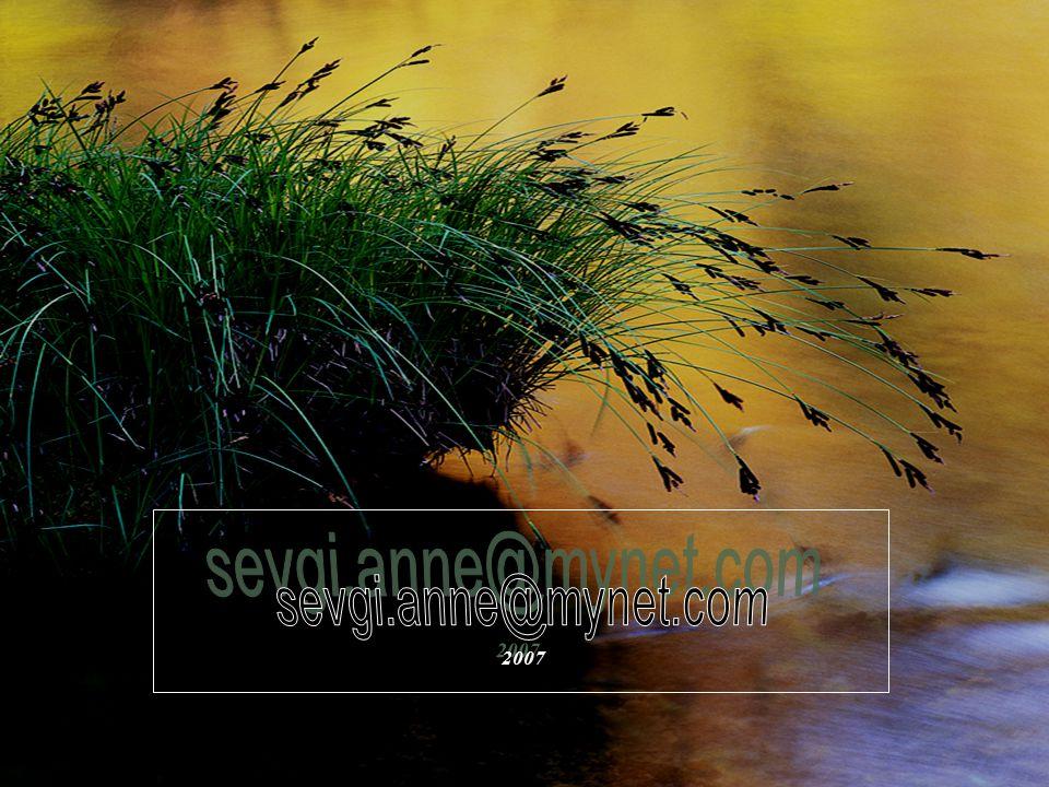 Sen bastığın yerde çiçeklerin büyüdüğü Her zaman en güzel, her yerde eşsiz Sen yaprak, sen köpük, sen kuş tüyü Sen sevgi nehirlerimin aktığı büyük den