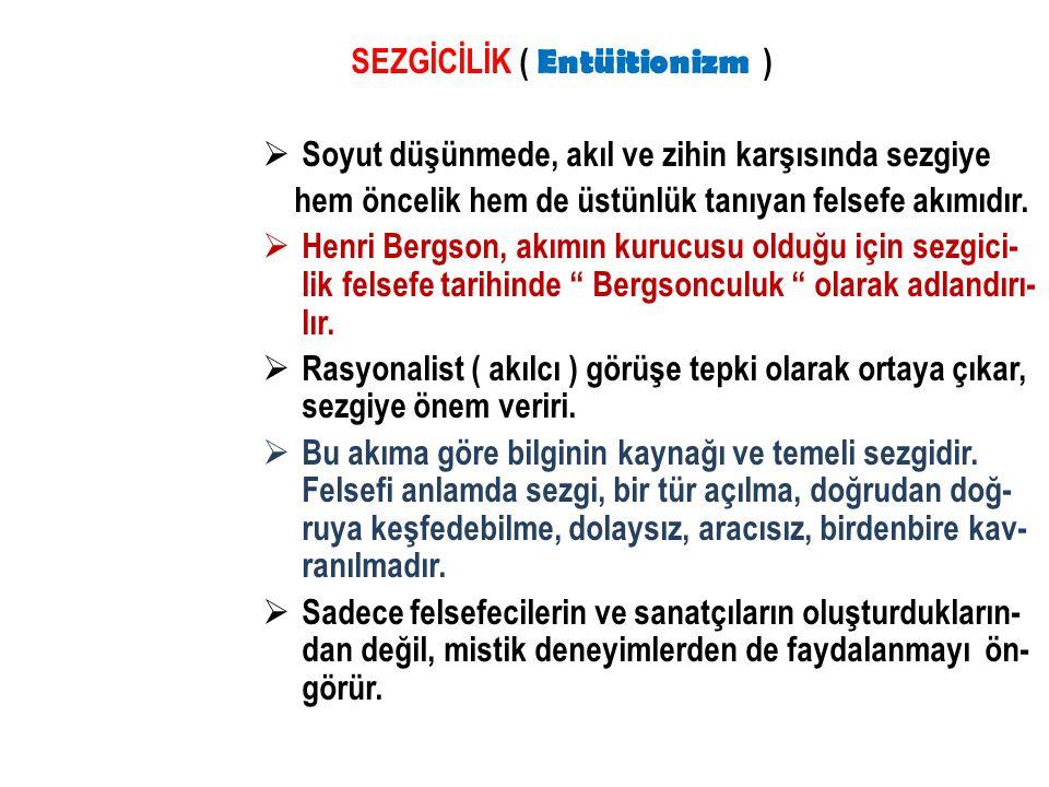  Edebiyatımıza Cumhuriyet döneminde giren bu akım Ahmet Hamdi Tanpınar, Necip Fazıl Kısakürek ve Asaf Halet Çelebi gibi şairleri- mizi etkilemiştir.