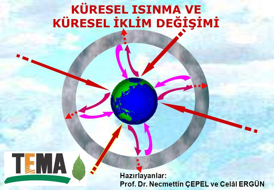 Sera Gazları Konusunda Bilgi Ana Konu Başlıkları Küresel Isınmanın Ekolojik Sonuçları Alınabilecek Önlemler Küresel Isınma Kanıtları BM-IPCC 4.